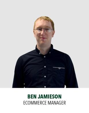 Ben Jamieson, Ecommerce Manager