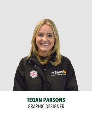 Tegan Parsons, Graphic Designer