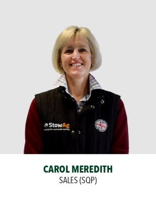 Carol Meredith, Sales & SQP